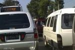 MUDIK LEBARAN 2012: Ruas  SALATIGA MENYEMPIT, Jalur Semarang-Solo Macet Parah