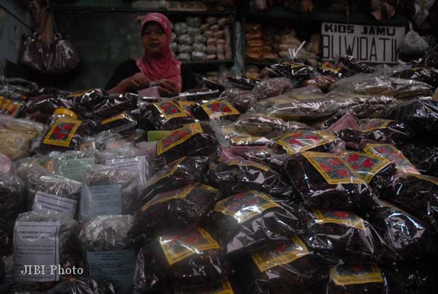 JAMU TRADISIONAL : Pengusaha Jamu Targetkan Omzet Rp15 Triliun