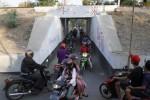 UNDERPASS MAKAMHAJI: Dishubinfokom Siapkan Petugas Pengurai Kemacetan