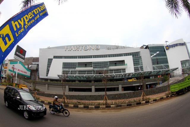 Hartono Mall Solo Baru saat masih dibangun.(Dok/JIBI/Solopos)