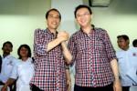 IDUL ADHA: Jokowi di Istiqlal, Ahok Jaga Kantor