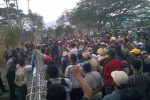 Tuntut Saluran Irigasi Tak Ditutup, Petani Wonogiri Demonstrasi