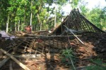 BENCANA BOYOLALI : Puting Beliung Ratakan 1 Rumah di Mojosongo