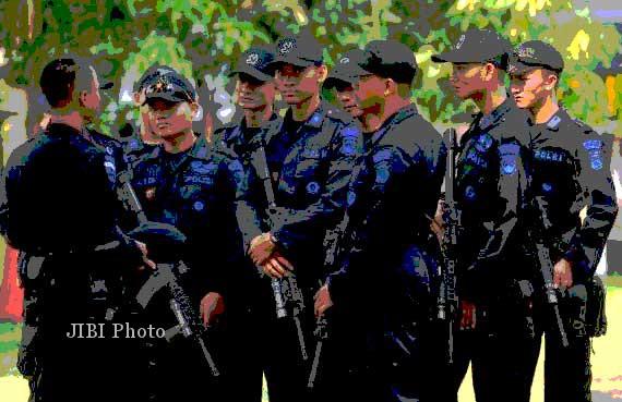 PENGGEREBEKAN TERORIS: Disebut Jadi Target, Mako Brimob Polda Jateng Tak Dijaga Berlebihan