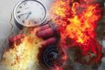 Brimob Ledakkan Bahan Bom yang Disita dari Rumah Terduga Teroris di Ngawi
