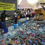 PEREDARAN MIRAS SOLO : Polisi Gagalkan Pengiriman Ratusan Ciu ke Jakarta