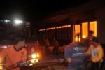Gudang Hotel Terbakar, Rugi Ratusan Juta Rupiah