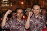 Jokowi dan Ahok Tiba di DPRD DKI