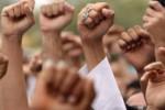 DEMO BURUH : Buruh Tolak Serbuan Tenaga Kerja Asing ke RI