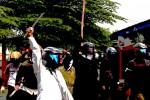 AKSI SWEEPING : Aksi Sweeping Marak di Kemlayan Solo, Tempat Nongkrong Jadi Sasaran