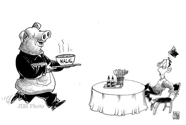 78+ Gambar Babi Karikatur
