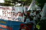 Tolak Boikot Produk, Buruh PT SCE Unjuk Rasa