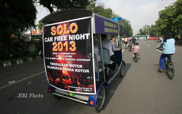 CAR FREE NIGHT SOLO: Malam Tahun Baru Tanpa Kembang Api