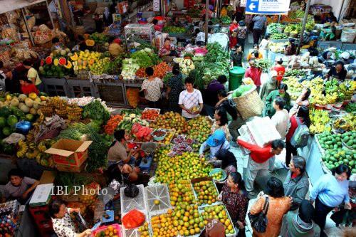 INFLASI SOLO : Tingginya Permintaan Bahan Pokok Makanan Picu Inflasi