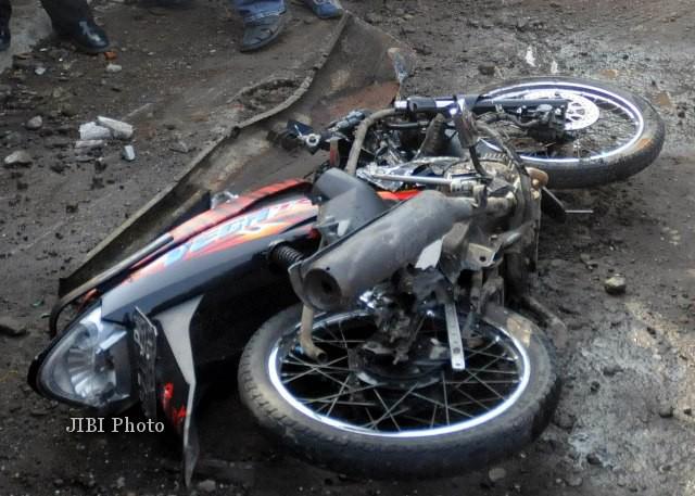 Tiga Sepeda Motor Adu Banteng di Karanganyar, Tiga Orang Meninggal