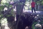 Tergerus Air, Jembatan Pilangsari, Bayat, Klaten Terancam Ambrol