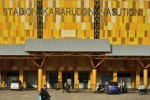 INDONESIA SUPER LEAGUE: Stadion Kaharudin Nasution Bersolek Sambut Partai Perdana PSPS