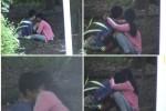 MESUM KLATEN: Inilah Foto Aksi 2 Remaja Klaten Berbuat Mesum di Hutan Kota