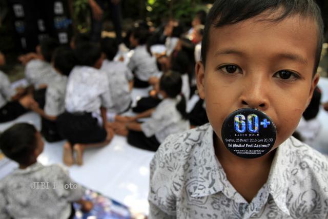EARTH HOUR 2013:  100 Titik Lokasi di Solo Serentak Akan Padamkan Lampu