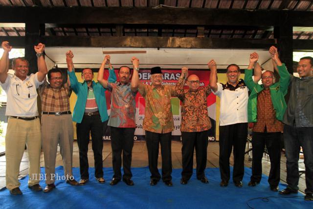 PILGUB JAWA TENGAH : Mega Bintang Dukung Hadi-Don