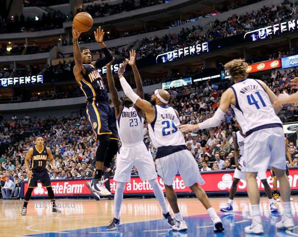 NBA 2013 : Pacers Lumpuhkan Mavericks