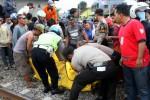 UNDERPASS MAKAMHAJI : Meski Diberi Pengamanan, Rel Kereta Masih Meminta Korban