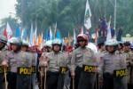 KENAIKAN HARGA BBM : 1.500 Polisi Siaga Hadapi Demo Susulan