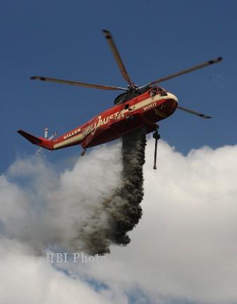 BPBD Jateng Minta Bantuan Penerbad Tangani Api Merbabu