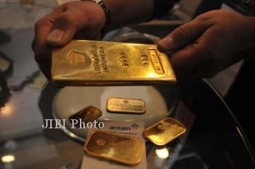 Emas (Rahmatullah/JIBI/Bisnis Indonesia)