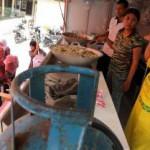 LONGSOR NGLIPAR : Badan Penanggulangan Bencana Gunungkidul Dirikan Dapur Umum