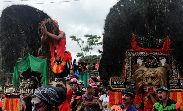 Gunungkidul Gelar Festival Reog dan Jathilan