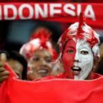 TIMNAS INDONESIA VS TIMNAS FILIPINA :  Suporter Merah Putih Mulai Bergemuruh di Manahan