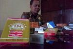 ROKOK ILEGAL : Satpol PP Wonogiri Amankan 11 Merek Rokok Bodong