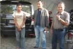 PENANGKAPAN TERSANGKA PERAMPOKAN : Dibekuk Saat Hendak Jual Mobil Curian
