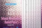 RAMADAN 2013 : Inilah Jadwal Imsakiyah Soloraya Selama 1 Bulan