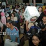 LEBARAN 2017 : Puncak Mudik Via KA di Madiun Diprediksi Kamis (22/6/2017)