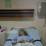 PELURU NYASAR : Peluru 2 Cm Bersarang di Rahang Siswi SMP