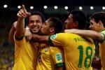 PIALA KONFEDERASI 2013 :  Pecundangi Spanyol 3-0, Brazil Ukir Hattrick Juara