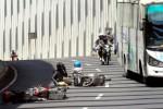 MUDIK LEBARAN 2013 : Pemudik Bersepeda Motor Tujuan Solo Ditawari Angkutan Gratis