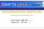 SBMPTN 2013 : Pengumuman Tak Transparan, Panitia Klaim Terima 109.853 Calon Mahasiswa