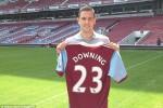 TRANSFER PEMAIN: Downing Resmi Bergabung West Ham