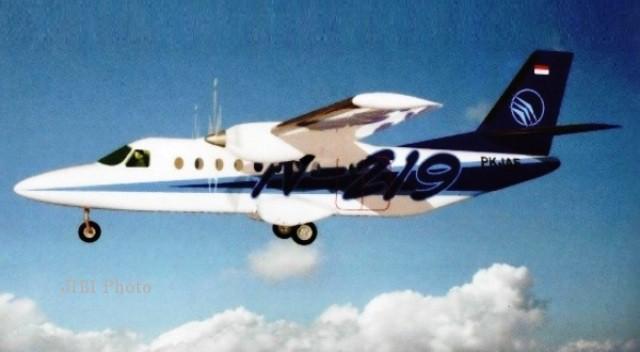 Ilustrasi pesawat baru N-219 bikinan PT Dirgantara Indonesia (bumn.go.id)