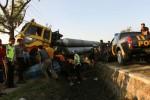KECELAKAAN KARANGANYAR : Inilah Rekaman Peristiwa Kecelakaan Truk Tronton Maut