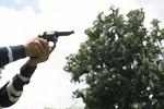 AKSI PERAMPOKAN : Selesai Beraksi, Perampok Ditembak Polisi