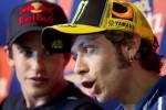 KABAR PEMBALAP : Rossi Bisa Berdamai dengan Lorenzo, Tapi Tidak dengan Marquez