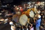 LEBARAN 2013 : Titik Nol Kilometer Jogja Mulai Padat