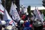 Buruh di Jogja Tuntut UMK Rp2 Juta dan Jaminan Kesehatan