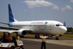 Ilustrasi pesawat milik maskapai Garuda Indonesia (Dwi Prasetya/JIBI/Bisnis)
