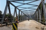 JEMBATAN SIDODADI SRAGEN : Pembangunan Jembatan Ditarget Selesai September