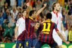 LA LIGA 2013/2014 : Gol Telat Alexis Sanchez Beri Barca Kemenangan Dramatis atas Sevilla 3-2